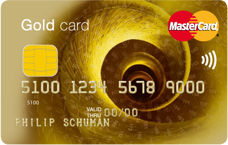 Mastercard Goldcard