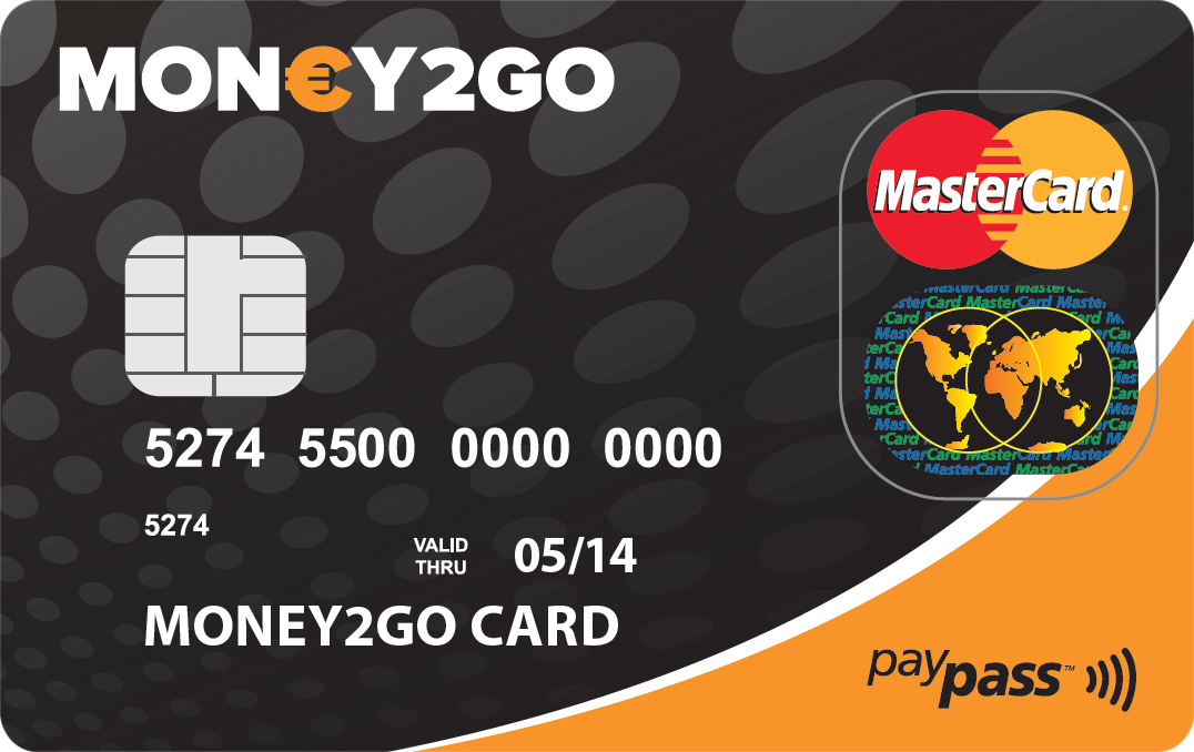 Money 2 go Mastercard